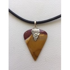 456 collier homme mookaite,argent sterling