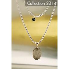 405 Collier quartz rutilé